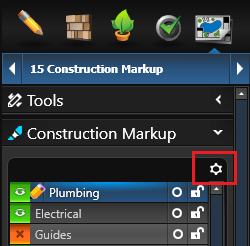 Construction Markup Settings