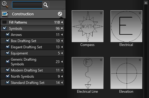 Construction Markup Symbols