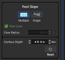 Contour depth