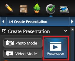 Create Presentation