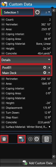 Custom Data Details