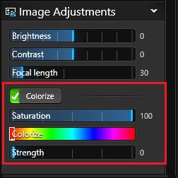Create Presentation Image Adjustment