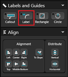 Labels Guides and Align Label