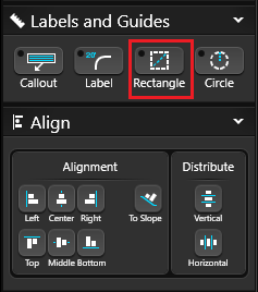 Labels and Guides Rectangle