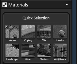Material Quick Selection