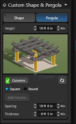 Pergola Columns