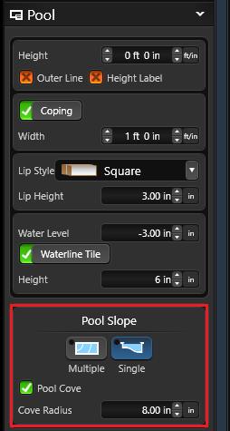Single pool slope