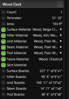 Smart Data Wood Deck