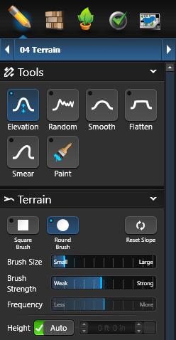 Terrain 3D Controls