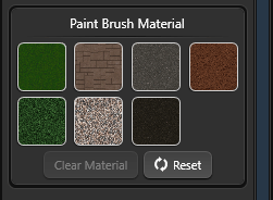 Terrain Paint Brush Material