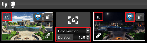 Video Mode Hold position
