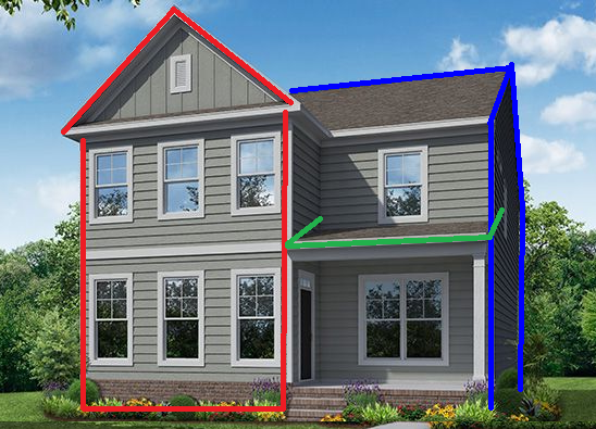 Multiple House Shapes