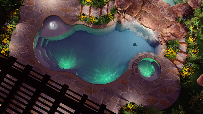 Swimming Pool Template