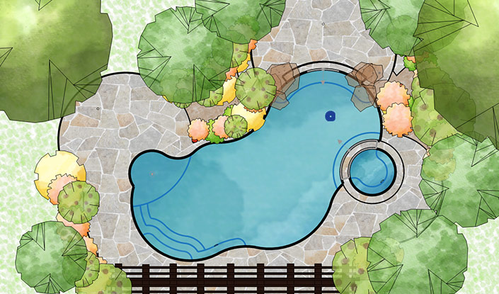 Construction Design in Vip3D Pool Design Software