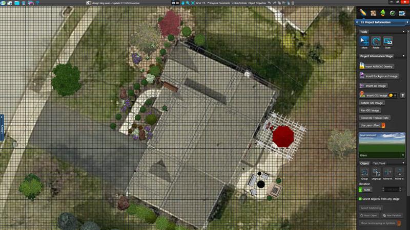 Pool and Landscape Design Software GIS Images
