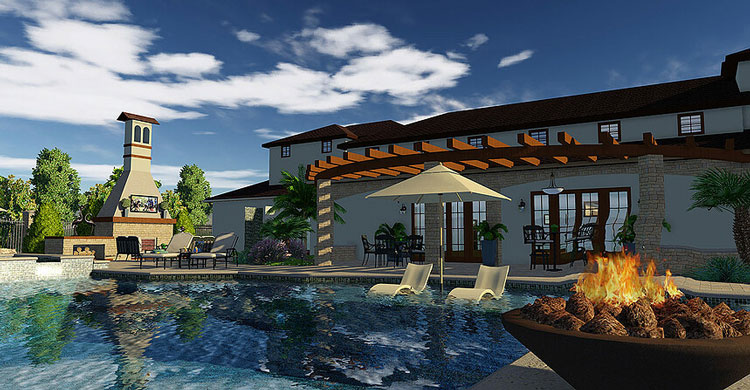 3d pool and landscaping design software overview | vip3d - Patio Design Program