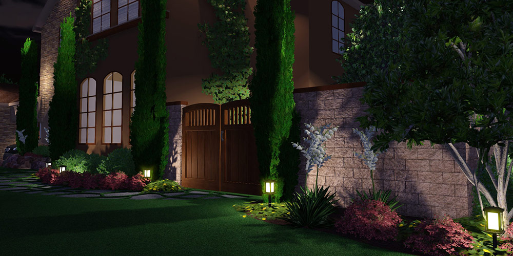 Landscape Lights 3D Landscape Design Software