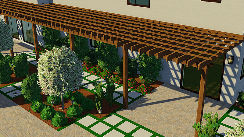 Custom Pergola Design Software Custom Pergola Design Software - 3D Pool And Landscaping Design Software FeaturesVip3D