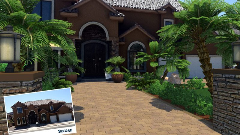 Hardscape Design Software with Photos