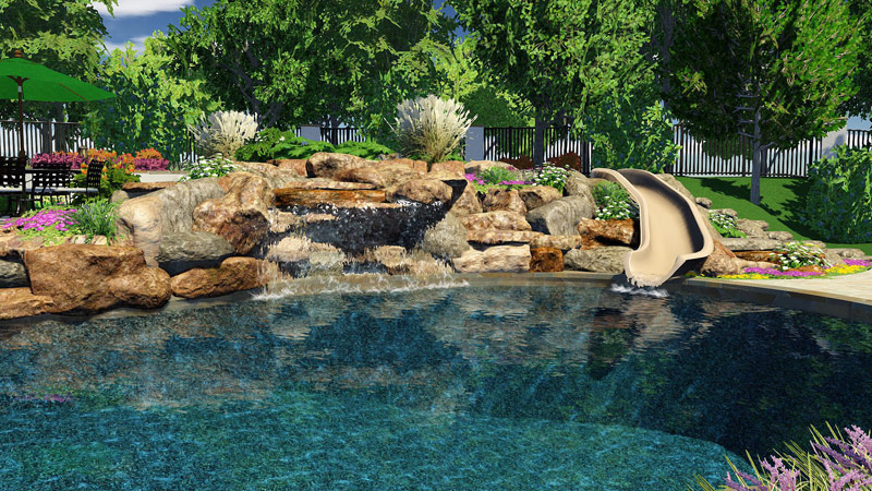 3D Pool and Landscaping Design Software Features| Vip3D