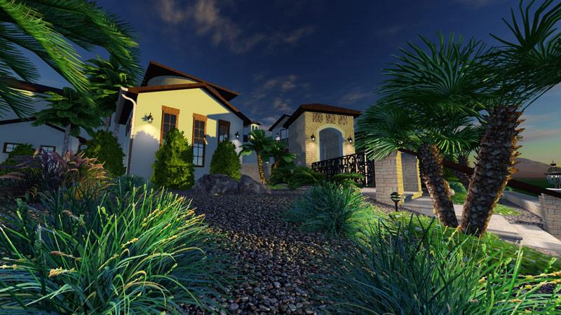 3D Pool and Landscape Design Software Topographic Terrain