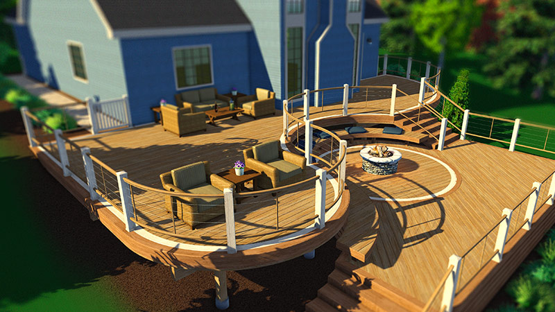 3D Deck Design Software