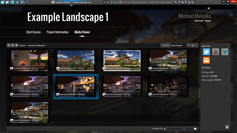 Pool and Landscape Design software with Social Media Integration