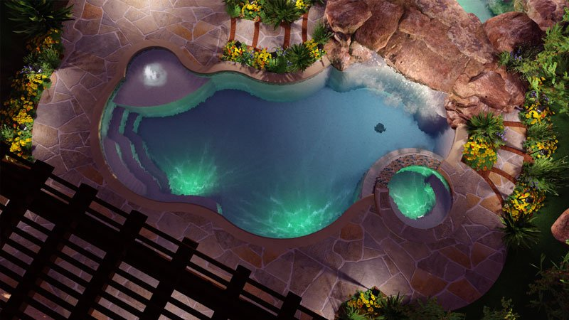 Swimming Pool Design Software in 3D