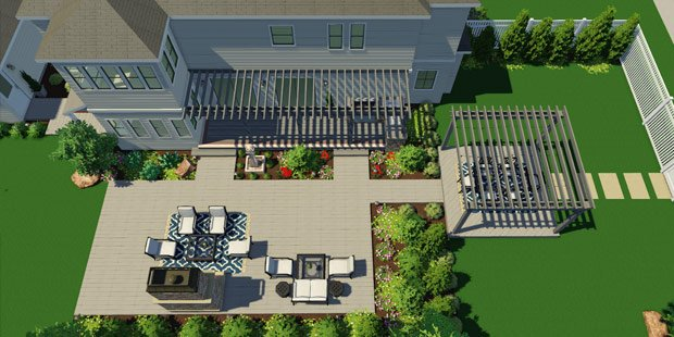 3D Pool and Landscape Design Software