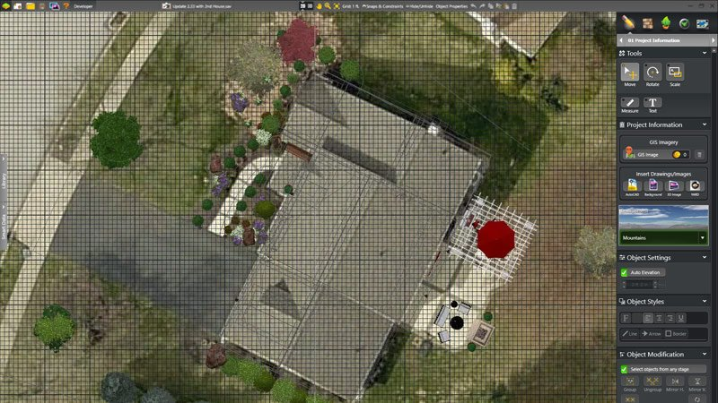 Pool and Landscape Design Software GIS Images